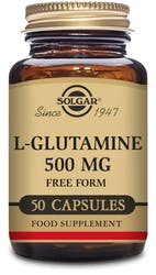Solgar L-Glutamine 500mg 50 capsules