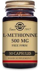 Solgar L-Methionine 500 mg 30 capsules