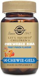 Solgar Lit'l Squirts Children�s Chewable DHA Chewie-Gels  90 Chewie-Gels