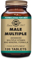 Solgar Male Multiple 120 Tablets