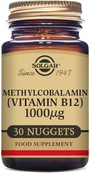Solgar Methylcobalamin (Vitamin B12) 1000µg 30 Nuggets