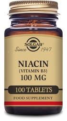 Solgar Niacin (Vitamin B3) 100 mg 100 Tablets