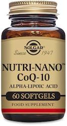 Solgar Nutri-Nano CoQ-10 ALA 60 Softgels