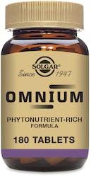 Solgar Omnium 180 Tablets