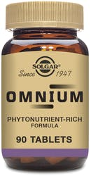 Solgar Omnium 90 Tablets