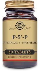 Solgar P-5'-P (Pyridoxal-5'-Phosphate) 50mg 50 Tablets