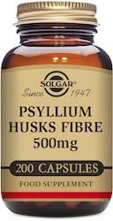 Solgar Psyllium Husks Fibre 500mg Vegetable Capsules 200