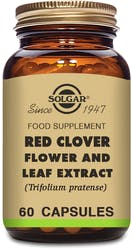 Solgar Red Clover Flower and Leaf Extract 60 Capsules
