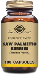 Solgar Saw Palmetto Berries 100 Capsules