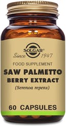 Solgar Saw Palmetto Berry Extract 60 Capsules