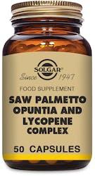 Solgar Saw Palmetto Opuntia & Lycopene Complex 50 Capsules