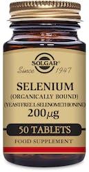 Solgar Selenium 200 µg (Yeast Free) 50 Tablets