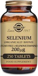 Solgar Selenium 200g (Yeast Free) 250 Tablets