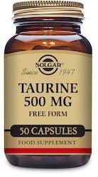 Solgar Taurine 500mg 50 Capsules