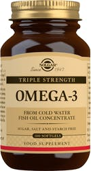 Solgar Triple Strength Omega-3 100 Softgels
