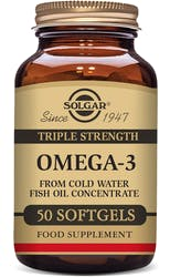 Solgar Triple Strength Omega-3 50 Softgels