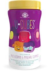 Solgar U-Cubes Multi-Vitamin & Mineral Gummies 60 Gummies
