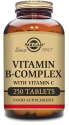 Solgar Vitamin B-Complex with Vitamin C 250 Tablets