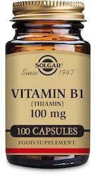 Solgar Vitamin B1 (Thiamin) 100 mg 100 Capsules