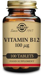 Solgar Vitamin B12 100µg 100 Tablets