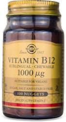 Solgar Vitamin B12 1000 µg Nuggets 100 Nuggets