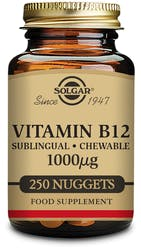 Solgar Vitamin B12 1000 µg Nuggets 250 Nuggets