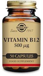 Solgar Vitamin B12 500µg 50 capsules