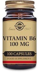 Solgar Vitamin B6 100mg 100 Capsules