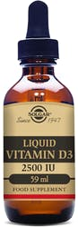 Solgar Vitamin D3 2500 IU (62.5µg) Liquid 59ml