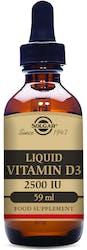 Solgar Vitamin D3 2500IU (62.5µg) Liquid 59ml