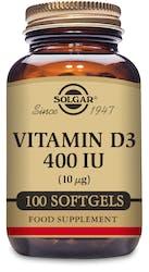 Solgar Vitamin D3 400 IU (10 μg) 100 softgels