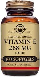 Solgar Vitamin E 268 mg (400 IU) 100 Softgels
