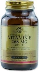 Solgar Vitamin E 268 mg (400 IU) 50 Softgels