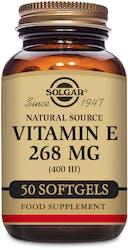 Solgar Vitamin E 268mg (400 IU)  50 Softgels