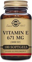 Solgar Vitamin E 671 mg (1000 IU) 100 Softgels