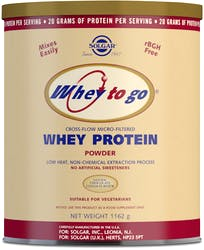 Solgar Whey To Go Protein Powder (Chocolate) 1162 g Powder