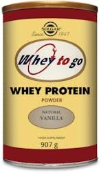 Solgar Whey To Go Protein Powder (Vanilla)  907 g Powder