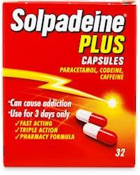 Solpadeine Plus Capsules 32 Capsules