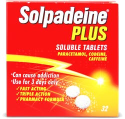 Solpadeine Plus Soluble Tablets 32