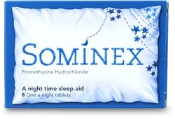 Sominex 8 Tablets