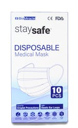 StaySafe Disposable Mask 10s