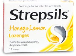Strepsils Honey and Lemon 16 Lozenges