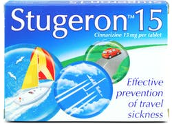 Stugeron Tablets 15