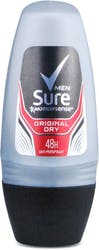 Sure Men Original Dry Deodorant Roll On 50ml