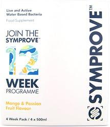 Symprove Live Bacteria Mango and Passion Fruit 4 x 500ml