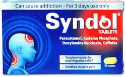 Syndol Tablets 10 Tablets