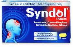 Syndol Tablets 30  Tablets