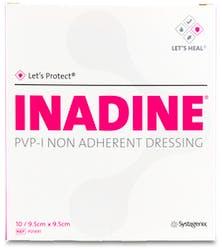 Systagenix Inadine 9.5cm x 9.5cm Dressing