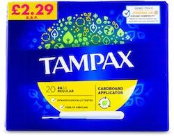 Tampax Regular Tampons 20 Pack