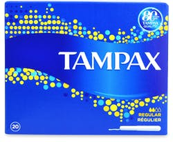 Tampax Regular Tampons With Applicator 20s